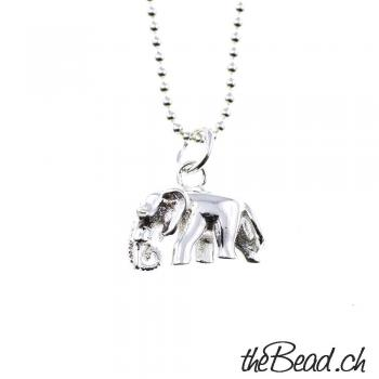 elephant, sterling, silver, 925