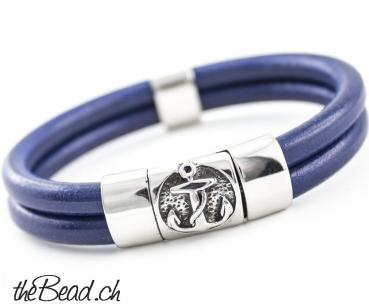 Herrenarmband BREEZE in Blau