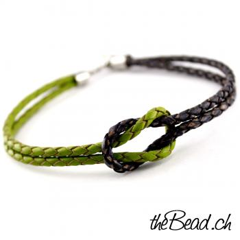Anklet made of leather, COLOR UP - Kopie