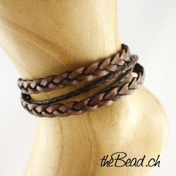 HÄISEL anklet made of leather