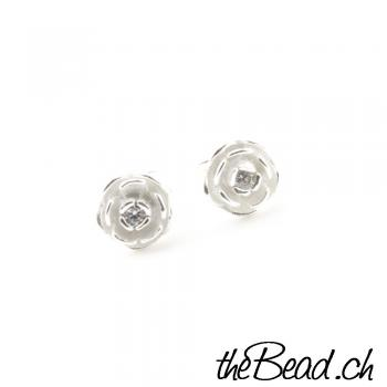 Tiny little Flowers Ohrstecker aus 925 Sterling Silber