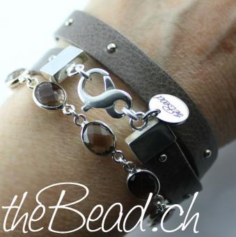 Schmuck online schweiz  Wunderschönes Rauchquarz Armband aus 925 Silber-♥- Schmuck ...