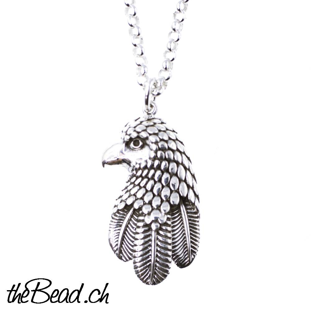 4725bca6ea Sterling Silver Necklace 925 Sterling Silver with eagle pendant You ...