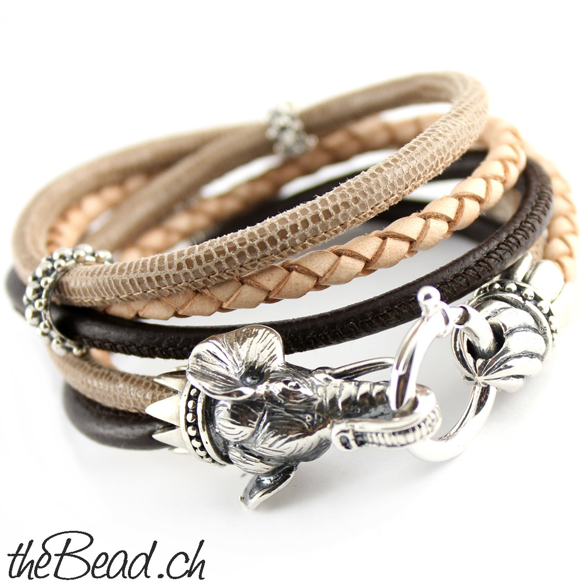 elefant elefanten armband armb nder lederarmband lederarmb nder wickelarmband. Black Bedroom Furniture Sets. Home Design Ideas