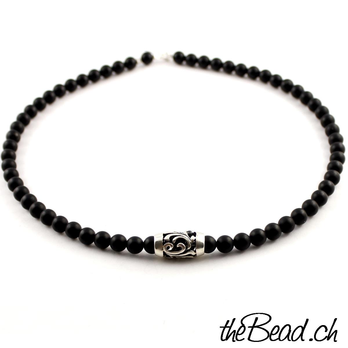 Perlenkette für männer