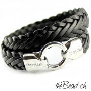 Herren Lederarmband online shop the Bead