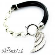 theBead Lederarmbaender und Silber 925 Sterling theBead